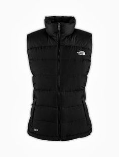 The North Face puffy vest