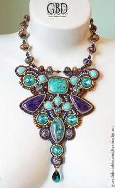 "Necklace, handmade beads. Fair Masters - handmade necklace ""Rio."" Handmade."