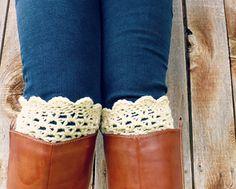free crochet boot cuff pattern @Kellie Dyne Gates , @Heather Creswell Grimes Davis , @Adrianne Glowski Davis  @deb rouse schwedhelm Ragsdale  Girls - thoughts? Crocheted Boot Cuffs Pattern, Crochet Aholic, Boots Cuffs, Crochet Boot Cuffs, Free Crochet Boot Cuff Pattern, Pattern Boots, Crochet Boots, Crochet Boot Cuff Girls, Bootcuffs