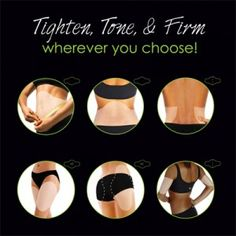 Target areas with the Ultimate Body Applicator by It Works to: Tighten, tone, & firm ANYWHERE in only 45 minutes!