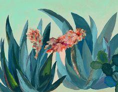 Glicee print Silkscreen illustration by artandpeople on Etsy, $21.00