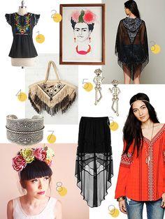 shopping inspiration frida kahlo