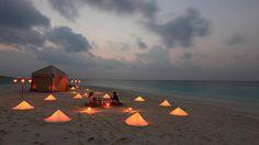 serenity now  travelchannel:  Escape to Kunfunadhoo Island, Maldives (via Romantic Island Retreat: Daily Escape: Travel Channel)
