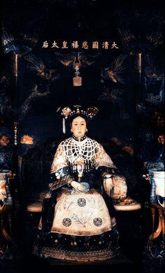 Empress Dowager Cixi portrait