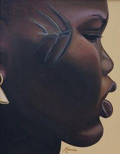 Tribal Mark - Kaaria Mucherera