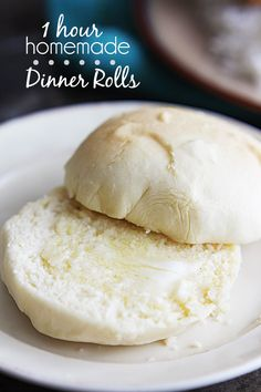 1 Hour Soft Dinner Rolls