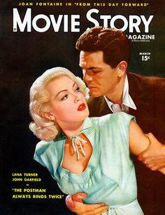 Lana Turner and John Garfield