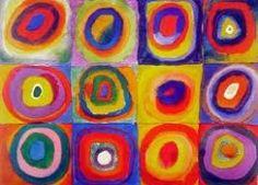 art club, squar, color, circl, abstract art