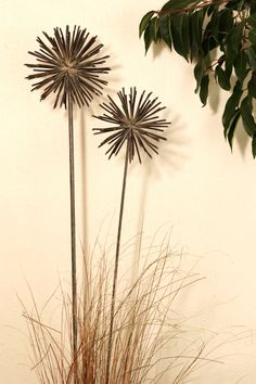 Large welded alliums...love!