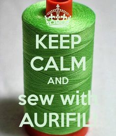 Perfect solution for Monday blues!  Feeling like... Monday morning? We've got the solution! #Sew #with #Aurifil