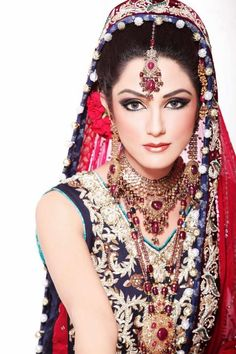 India Bridal Make up