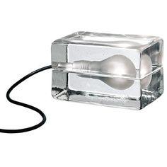 Block Lamp. One of my favorite lamps!