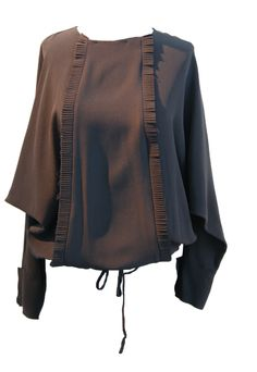 marni black silk top