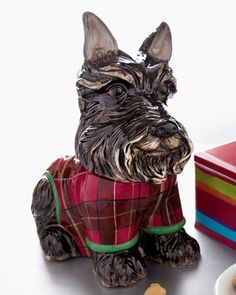 Scottie Dog Cookie Jar at Neiman Marcus.