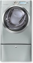 Get an up-close look at the Electrolux 8.0 Cu. Ft. Electric Front Load Dryer with Wave-Touch® Controls featuring Perfect Steam™