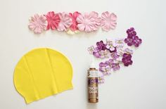 Swim cap how-to.....would be cute party favors for little girls