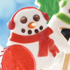 Jolly Snowman Cookies Recipe from Taste of Home