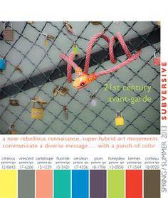 Color Trends Spring/Summer 2013