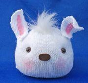 bunny head sock craft From www.daniellesplace.com