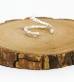 nelson jewelri, accessori, twig ring, sterling silver rings