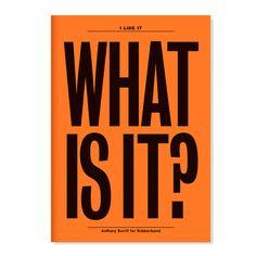 I Like It What Is It Notebook | Cooper-Hewitt Shop | $13.50