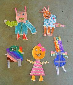 Art Bar Blog paper robots