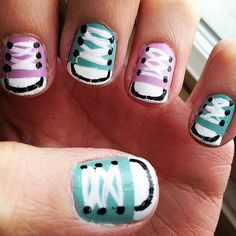 Make Casual Friday last all week with this sneaky manicure.