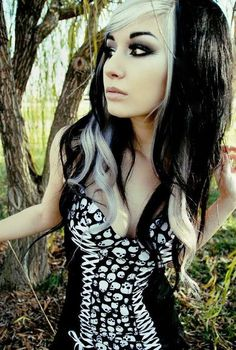 This is my dream hair! On my hairstylist side anyways. On my grown up side just black ;)