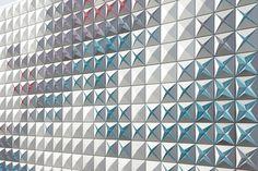 Aluminium clad storage depot in Aurillac, France, by Brisac Gonzalez