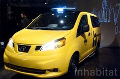 Nissan just unveiled NYC's Taxi of Tomorrow at the New York Auto Show!