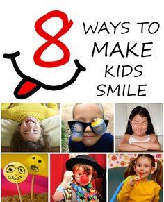 8 ways to make kids smile