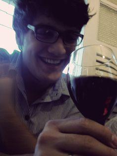 Some wine...