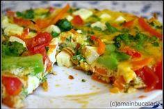 Frittata cu broccoli si telemea de oaie - Culinar.ro