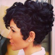 Like The River Salon   Curly hair pixie cut by Najah Aziz   Specialties: cuts, haircare   Atlanta, GA   (404) 941-7099
