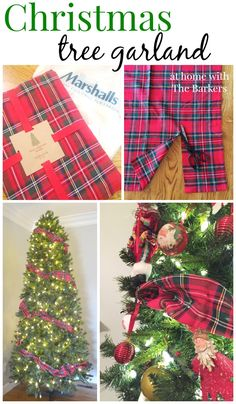Plaid Christmas Tree