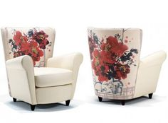 Artistic Upholstery Chair - Caterina by IDP Italia