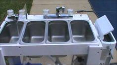 Portable Concession Sink for Moble Food Vendors, via YouTube.