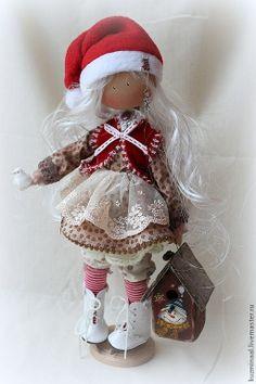 Pueblos Hechos a mano. Masters Feria Textil - MAGDA muñeca del hecha a mano Vendidas. Hecho a mano. handmad doll, navidad trapo, tilda navidad, magda, handmade dolls, cloth doll, muñeca os, boneca