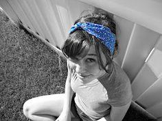 DIY head wrap. Check out heartslikethefourthofjuly.blogspot.com for an easy tutorial :)