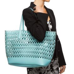 Turquoise Tote <3