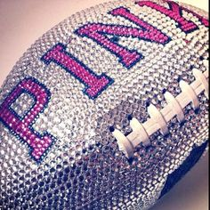 i might actually like football if the footballs looked like this