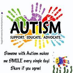 Autism Awareness #autism #awareness classroom stuff, autism awareness, 1150 kid, find support, stickers, autism support, educ, awar sticker, parent support