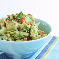 I Breathe... I'm Hungry...: Southwestern Chicken Salad w/ Bacon  Avocado
