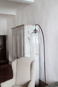 neat lamp~SupplyPaperCo-visits-Marston-House