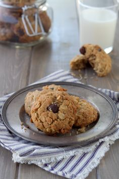 Almond Butter, Chocolate and Coconut Cookies from A Communal Table. Click through for recipe.