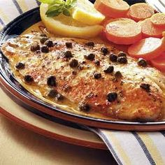 Baked Tilapia with Lemon Butter and Capers