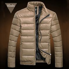 Mens Fashion Zip Puffer Jacket | Sneak Outfitters