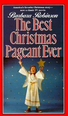 The Best Christmas Pageant Ever--  I always find it hard to believe when I talk to people about this book that most have never read it. If you have not, I highly recommend it for yourself and your kids! A funny, cute, touching story. I read it when I was a kid and then saw the movie. A really wonderful book about the meaning of Christmas.