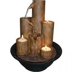 Indoor table fountains