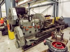 "BRIDGEFORD MACHINE TOOL WORKS LATHE, S/N: M1602, 60"" SWING, 160"" CENTERS, 48"" CHUCK  Online Auction of Large Capacity CNC Lathes, Large Quantity of Hand Tools, & Toolroom Equipment - Bidding Open Now until June 18th Bidding Starts to Close at 1:00 PM/Eastern on the final day of bidding  http://bid.acceleratedbuysell.com/cgi-bin/mnlist.cgi?perillo72%2Fcategory%2FALL"